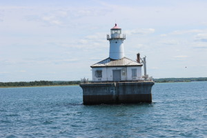 14 Foot Shoal Light Cheboygan Lake Huron