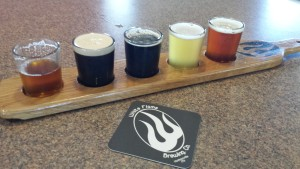 White Flame Beer Flight