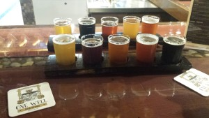 One Well Brewing Flight