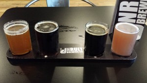 Unruly Brewing Beer Flight