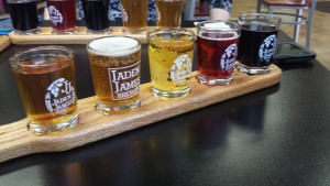 Jaden James Beer Flight