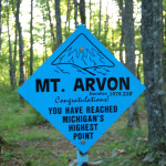 Michigan's Highest Point – Mt. Arvon