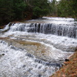 Au Train Falls – Two Scenic Waterfalls on the Au Train River in Alger County