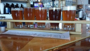Harmony Brewing Company Flight 2