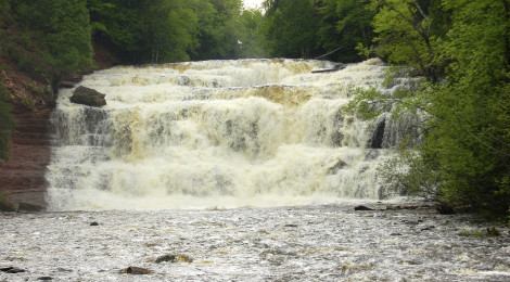 Agate Falls - Ontonagon County