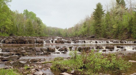 Bonanza Falls - A Hidden Gem Waterfall Near the Porcupine Mountains