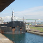 Freighter Watching – Sault. Ste. Marie