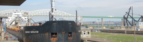 Freighter Watching - Sault. Ste. Marie