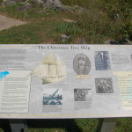"""Christmas Tree Ship"" Rouse Simmons Historic Marker and Park – Manistique"