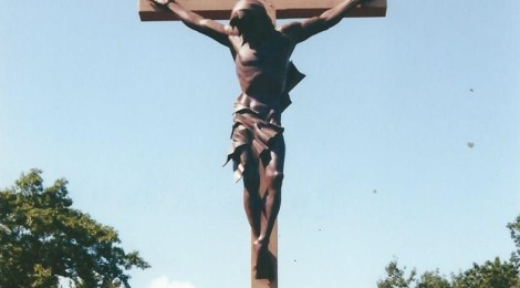 Largest Crucifix in World a Site to See in Indian River, Michigan