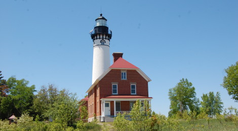 Au Sable Point Light Station - Pictured Rocks National Lakeshore