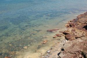 Au Sable shallow shore