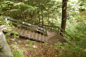 Munising Falls Stairs