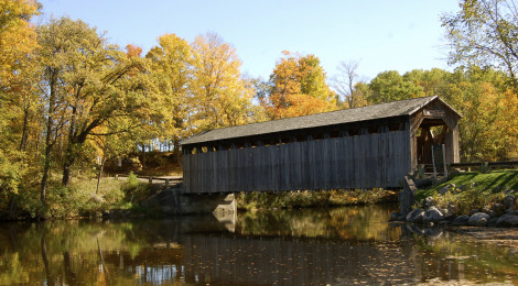 Fallasburg, Ada and White's Bridge - Covered Bridges of Kent and Ionia Counties