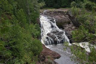Saxon Falls - Gogebic County