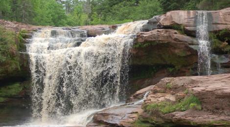 O Kun De Kun Falls - Ontonagon County