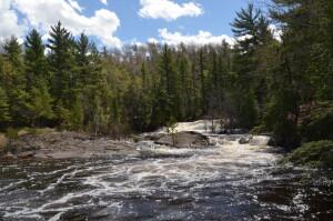 Dead River Falls Marquette Michigan Lower Falls