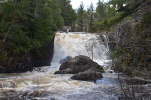 Dead River Falls Marquette Michigan Upper