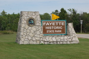 Fayette State Park Sign
