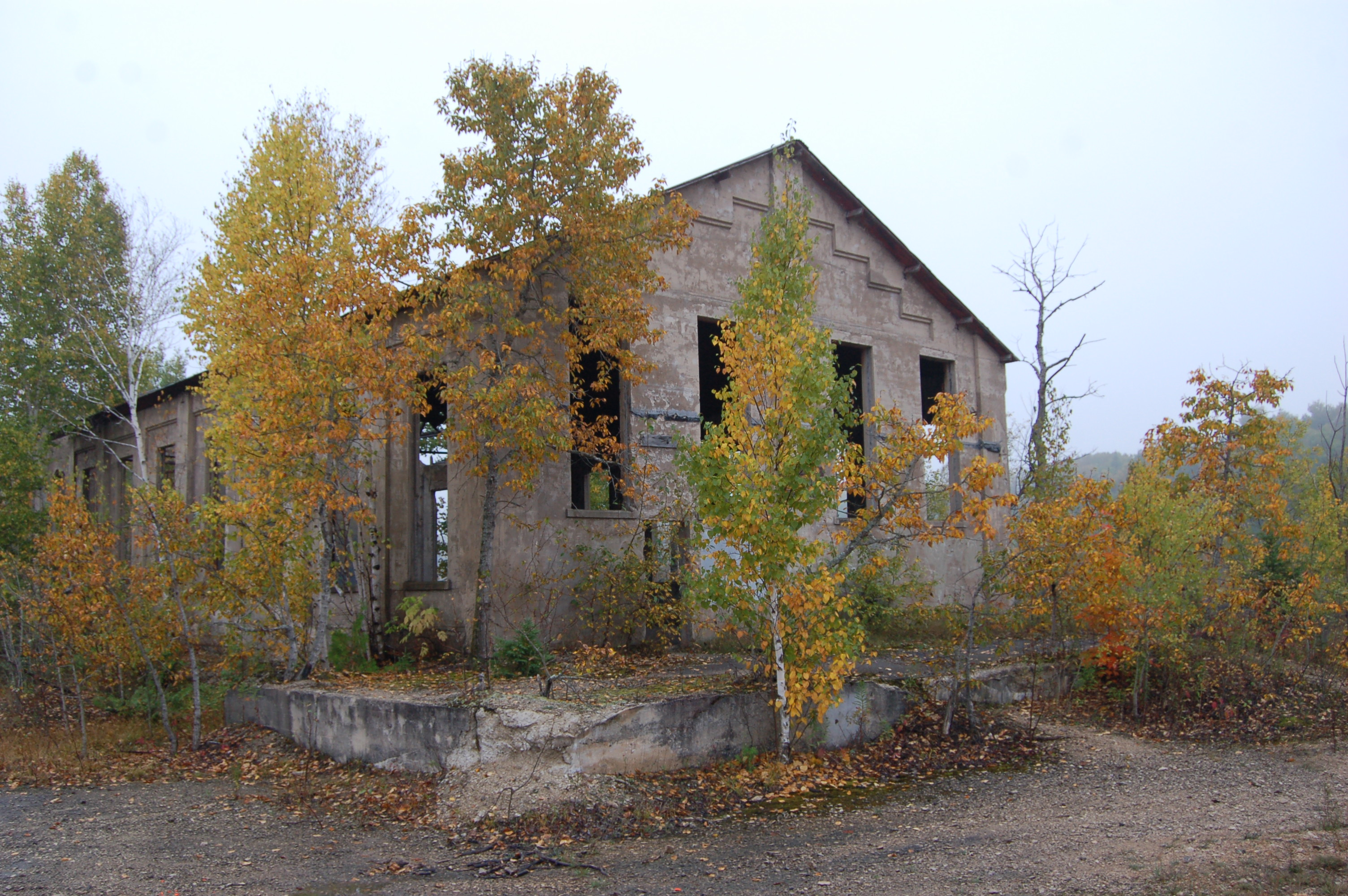 Fiborn Quarry An Upper Peninsula Quot Ghost Town Quot And Karst