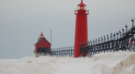Michigan Winter Road Trip: Lake Michigan Lighthouses