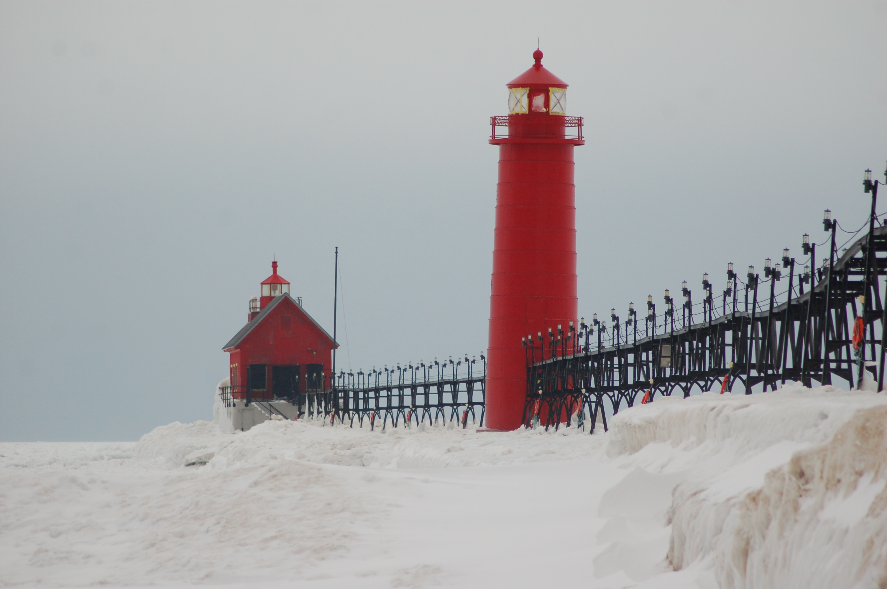 Michigan Winter Road Trip: Lake Michigan Lighthouses ...