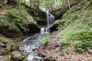 Horseshoe Falls Munising