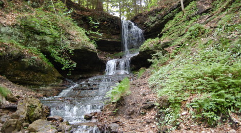 Horseshoe Falls - Alger County