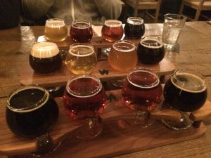 Brewery Vivant Flight Beer