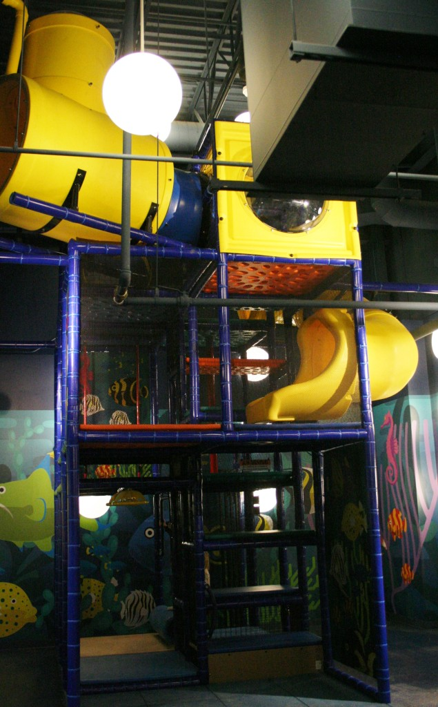 Play Area Found at End of Sea Life Tour