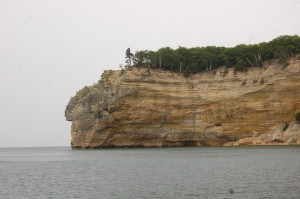 Indian Head seen from Pictured Rocks Cruise
