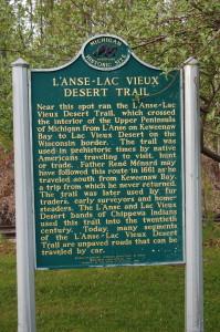 L'Anse Lac Vieux Desert Trail