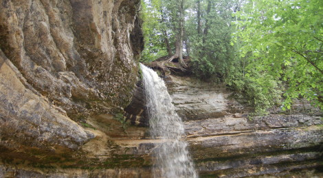 Munising Falls - Pictured Rocks National Lakeshore, Alger County