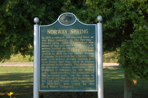 Norway Spring Marker