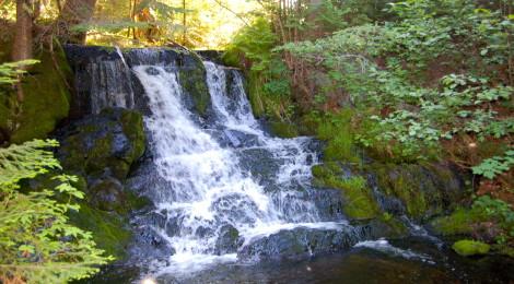 Ogemaw Falls - Baraga County