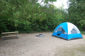 Petoskey State Park Camping