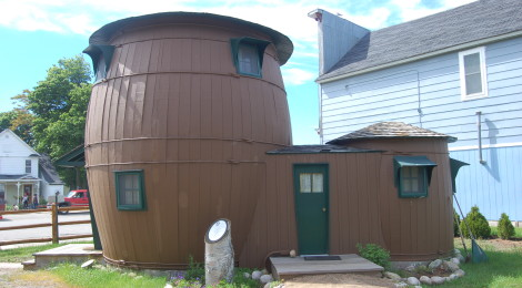 Michigan Roadside Attractions: See The Pickle Barrel House in Grand Marais