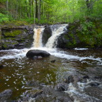 Root Beer Falls on Planter Creek, Wakefield