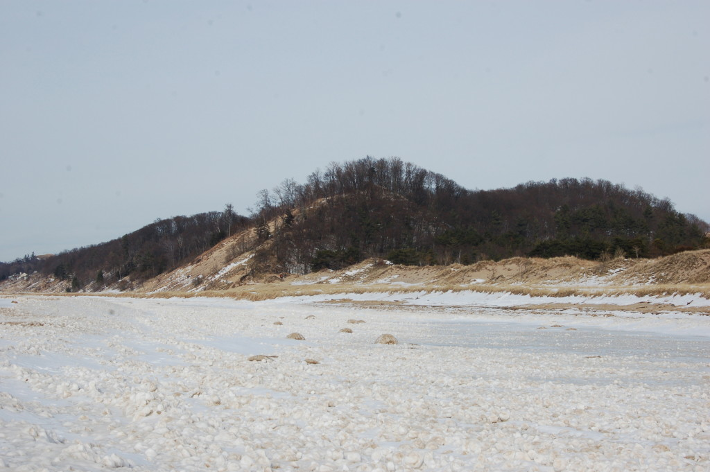 Saugatuck Dunes in Winter