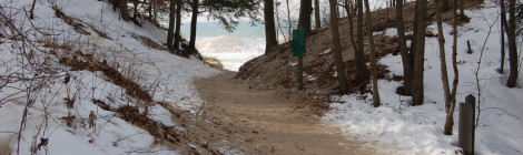 Photo Gallery Friday: Saugatuck Dunes State Park in Winter