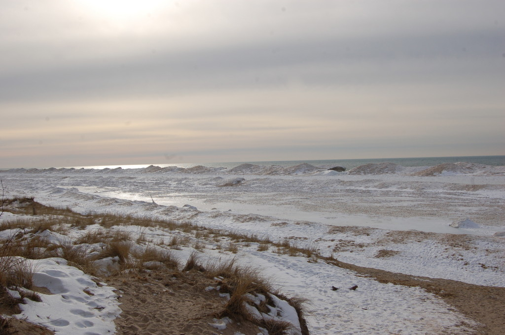 A look at the Lake Michigan shore