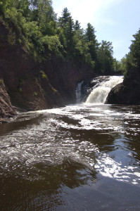 Superior Falls August 2015 Michigan Montreal River