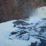 Superior Falls on the Montreal River – Gogebic County