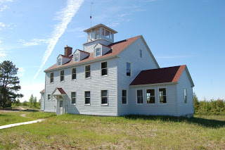 """Vermilion Point Life Saving Station - A """"Ghost Town"""" On Lake Superior"""