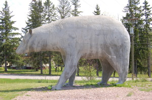 Vulcan Bear Statue