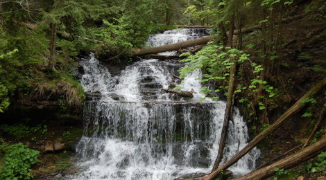 Wagner Falls State Scenic Site - Alger County