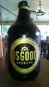 Osgood Brewing Growler