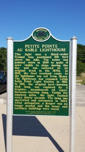 Little Sable Historic Marker
