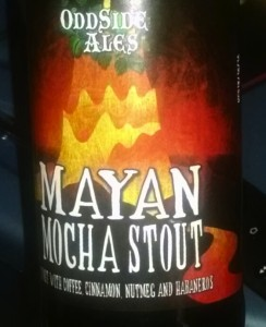 Michigan Beers - Mayayn Mocha Stout Odd Side