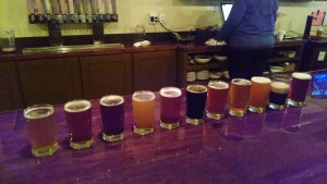 Osgood Brewing Flight